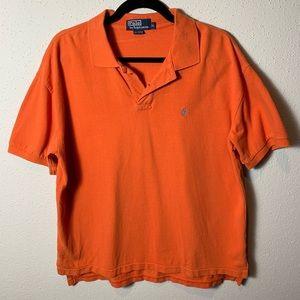 POLORALPHLAUREN Men's XL Orange Polo